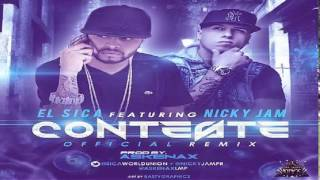 Nicky Jam Ft El Sica - Conteste
