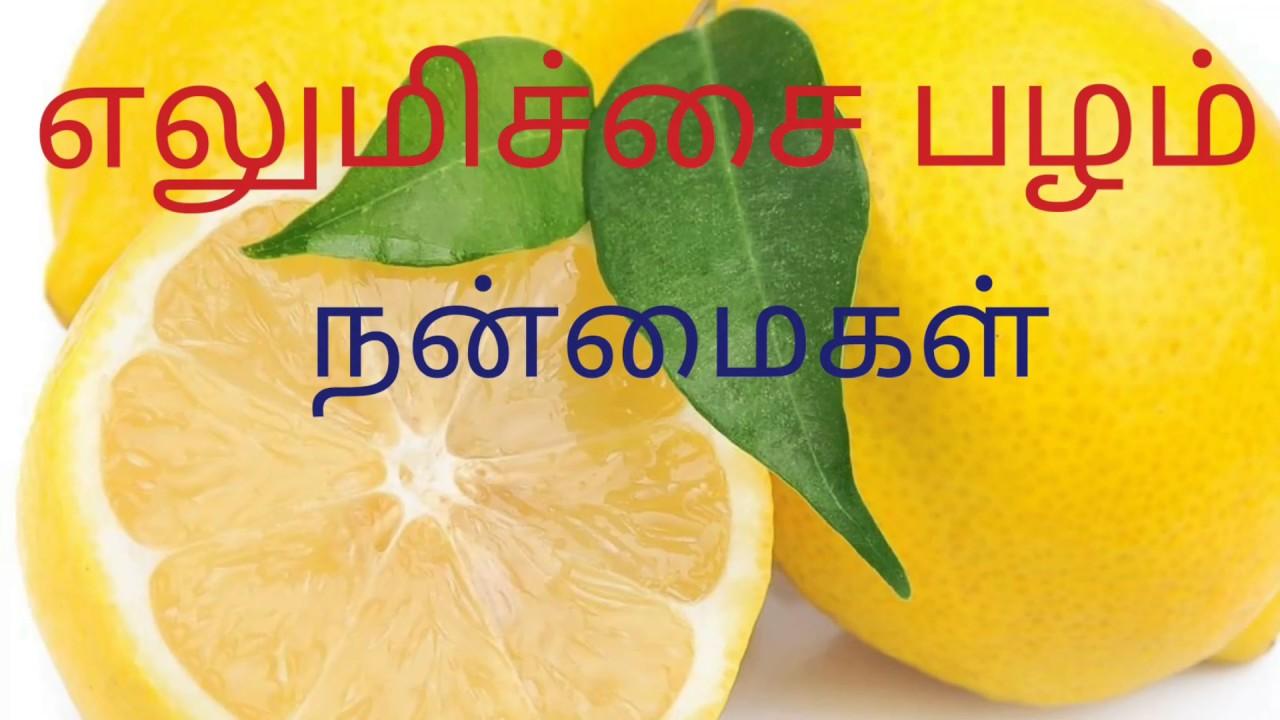 lemon benefits in tamil - youtube
