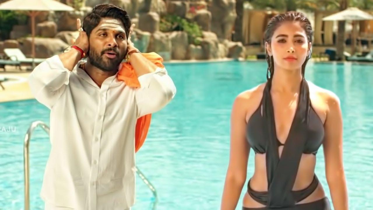 Download Pooja Hegde Swimming Pool Scene From Movie DJ (Duvvada Jagannadham)