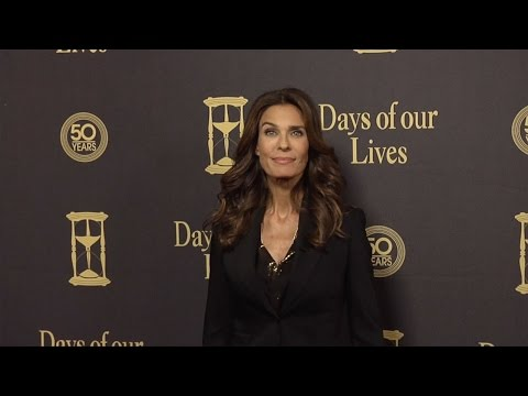 Kristian Alfonso Red Carpet Style at Days of Our Lives 50 Anniversary Party