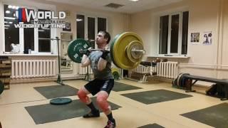 ZAKHAROV-VLOG/15.03.2017.Толчок-100 кг/Подготовка к Чемп.России-17