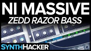 Massive Tutorial - Zedd Style 'Razor' Electro House Bass