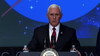 Vice President Pence Swears in New NASA Administrator Bridenstine