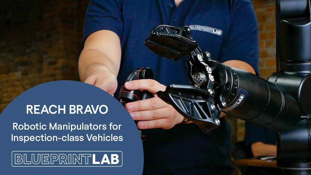 REACH BRAVO - A quick look at the game-changer in underwater robotic arms