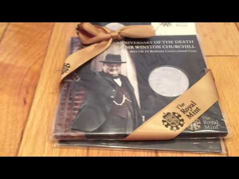 Unboxing Commemorative Coins From The Royal Mint