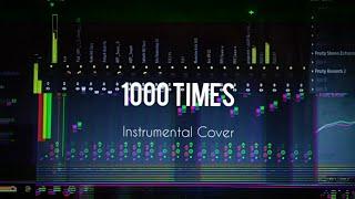 Jarryd James ft. Broods - 1000x Karaoke (Instrumental Cover) with lyrics