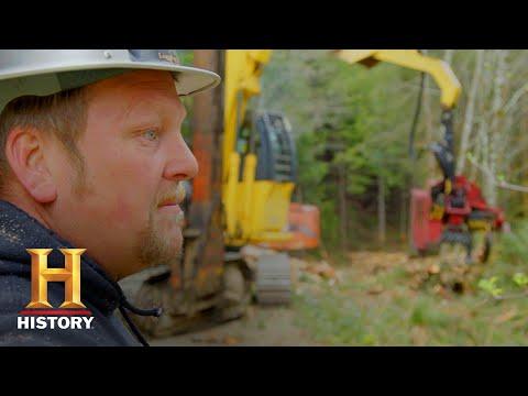 Ax Men: Rygaard Crew Battles A Dangerous Crooked Skyline (Season 10) | History