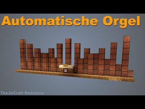 ORGEL in MINECRAFT - Showcase & Tutorial & Musiktheorie im PC-Spiel