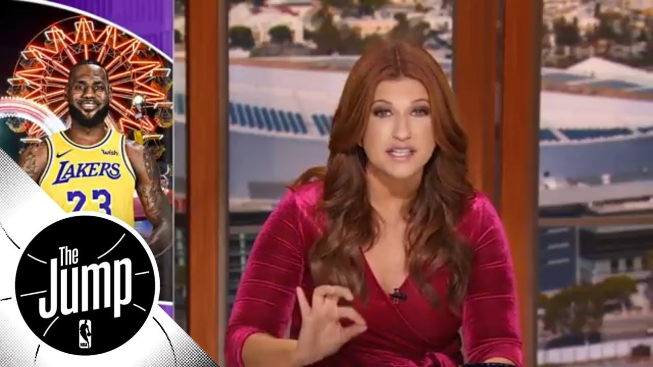 Rachel Nichols: LeBron's Lakers carnival has arrived; The good and bad from the opener | The Jump