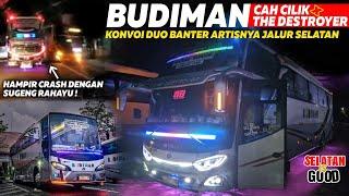 Bus Budiman The Destroyer Budiman Cah Cilik ️ Duo Banter Artis Jalur Selatan