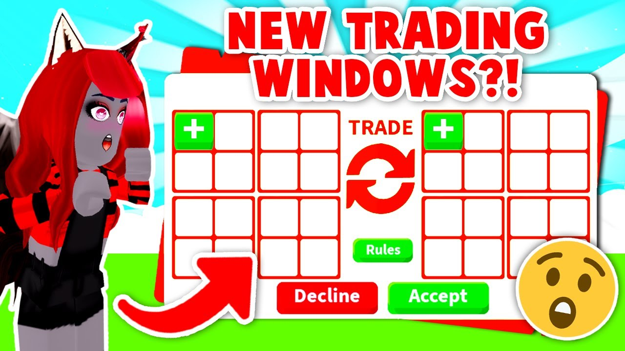 Adopt Me Is Coming Out With Brand NEW TRADING WINDOWS! (Roblox)