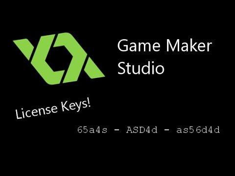 game maker license key