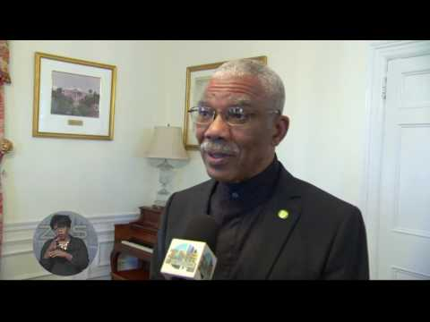 PRESIDENT OF GUYANA STATE VISIT TO THE BAHAMAS