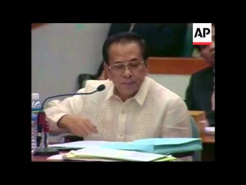 PHILIPPINES: ESTRADA IMPEACHMENT TRIAL LATEST - YouTube