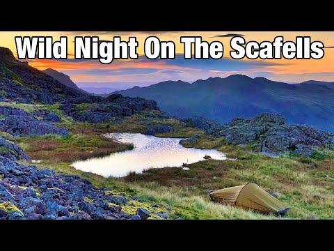 A Wild Night at Broadcrag Tarn