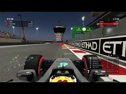 F1 2017 - Abu Dhabi race 4k Ultra HD 60fps