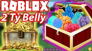 2Tỷ-Roblox Belly Buy Left the demon Donated Fan | Steve's One Piece