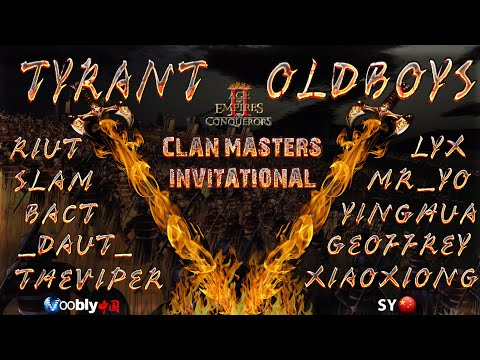 Clan Masters - Grand Final | TyRanT vs Old Boys | Game 5