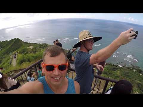 Diamond Head Trail Hike - Oahu, Hawaii State