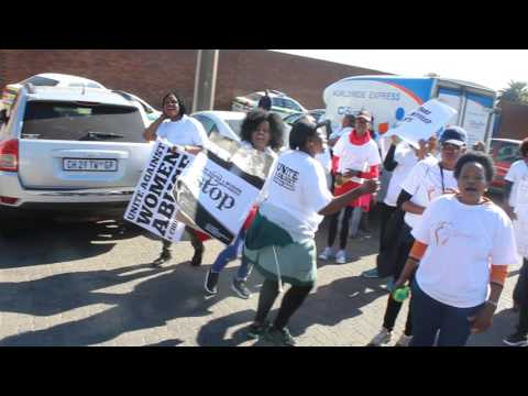 Miss Curvy Body SA hosts a peaceful march against gender based violence
