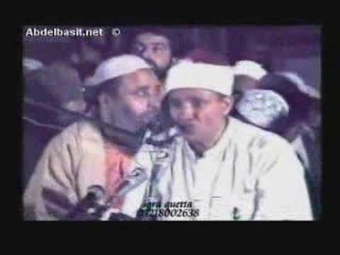 Qari Abdul Basit - Surah Haqqah *BREATHTAKING*