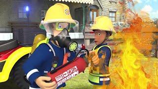 Požárník Sam nové díly 🔥Hasiči v akci - 1 hodina Sestavení 🚒🔥Karikatura Pro Děti