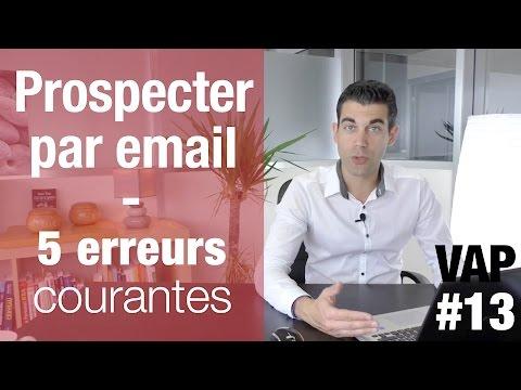 Prospecter par email : 5 erreurs courantes  - VendreAvecPlaisir#13