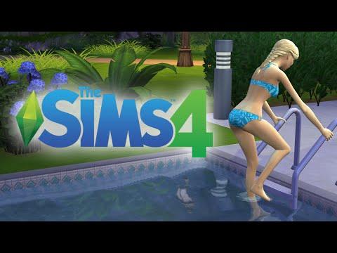 The Sims 4 Fairy Tale: ELSA IN A BIKINI! - Ep. 12