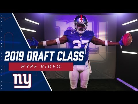 New York Giants 2019 Draft Class Hype Video