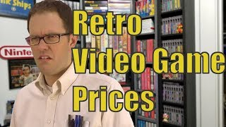 How the Angry Video Game Nerd Affects Retro Video Game Prices