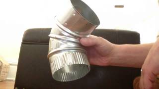 How to elbows for round ductwork