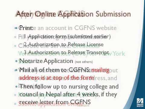 Getting Nursing License in New York State with the Nursing Degree from Nepal or other Countries