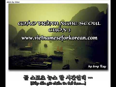 Giáo trình nghe Seoul Cuốn 3 Bài 22, bài 23 và bài 24 [www.vietnameseforkorean.com]