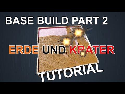 Modellbau101 EP:11 Base Build Part 2 KRATER UND ERDE (How To, Tutorial) |