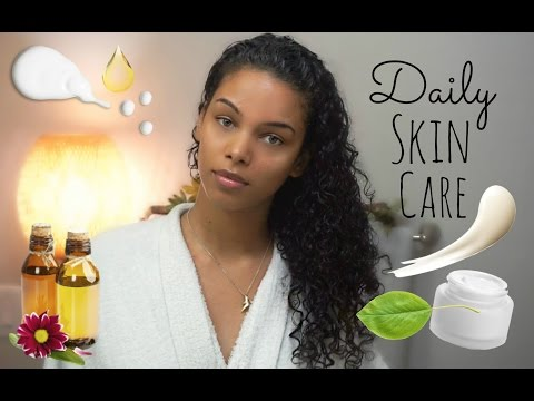 Daily Natural SKIN CARE Routine (Morning & Night)