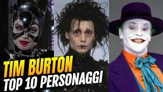 Tim Burton - I migliori 10 personaggi del suo cinema dark