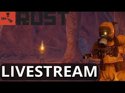 Running the Solo Cave Shop LIVE - Rust Livestrem
