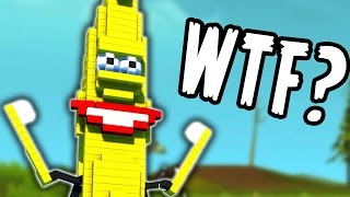 WTF IS THAT THING??? (Scrap Mechanic Creations)