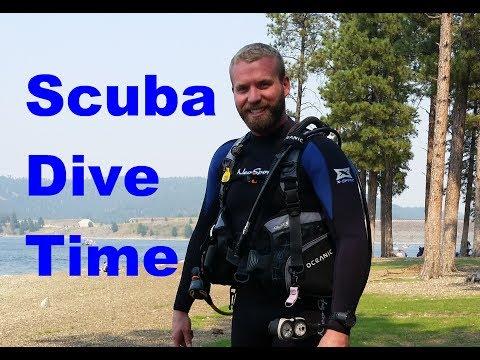 Scuba Diving at Pactola Lake, SD