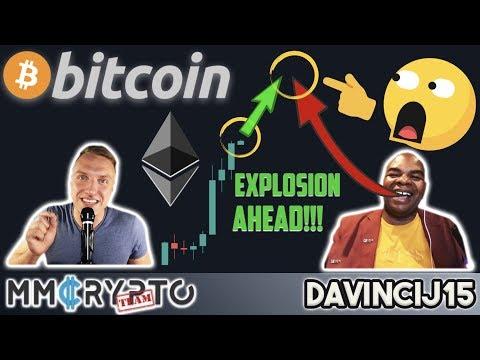 WATCH OUT!!! BITCOIN & ETHEREUM MASSIVE EXPLOSION AHEAD!!! w. DavinciJ15