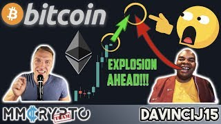 WATCH OUT!!! BITCOIN & ETHEREUM MASSIVE EXPLOSION AHEAD!!! w. DavinciJ15