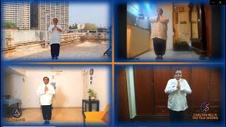 Bafa Wubu of Tai Chi on World Tai Chi & Qigong Day 2021- Mumbai, India