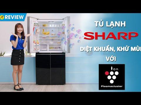 Tủ lạnh Sharp 401L: Khử mùi diệt khuẩn, dung tích lớn (SJ-FXP480VG-BK) • Điện máy XANH