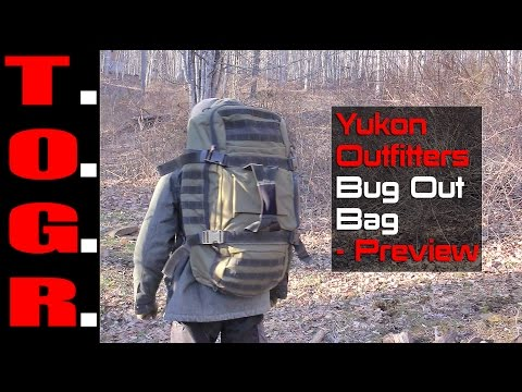 Yukon Outfitters Bug Out Bag – Preview