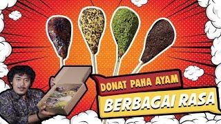 REVIEW DONAT PAHA AYAM !!
