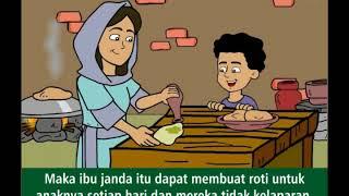 Nabi Elia Dan Ibu Janda Tepung Dan Minyak Seri Film Animasi Cerita Alkitab Anak Sekolah Minggu Youtube