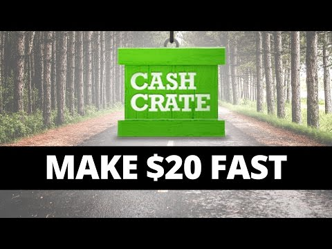 Make $20+ in Less Than 2 Hours With CashCrate!