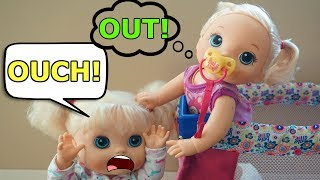 Video BABY ALIVE Layla Plays Outside & Morning Routine download MP3, 3GP, MP4, WEBM, AVI, FLV Januari 2018