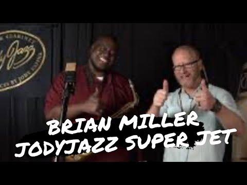 Brian Miller plays the JodyJazz Super Jet Alto Mouthpiece