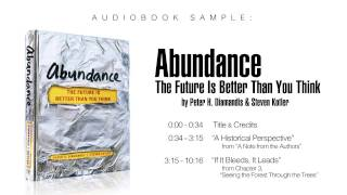 Abundance: The Future Is Better Than You Think --Audiobook Sample